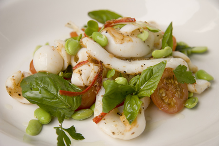 Squid with lime and chilli dressing Fresh Ideas