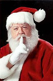 Fresh ideas Santa too portly apparently!