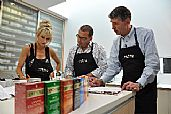 Paul Henry and Kate Hawkesby slurp, sip and spit fresh ideas