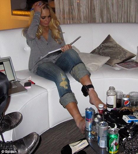 Lindsay Lohan and her designer booze band fresh ideas