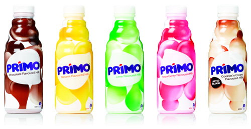 Flavored milk gets a primo new look fresh ideas
