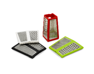 Fresh ideas Great news... A fancy new grater!