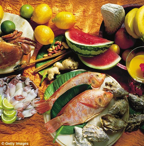 More fish, nuts, fruit equals less Alzheimers fresh ideas