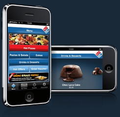 Domino's Pizza launches awesome iPhone app fresh ideas
