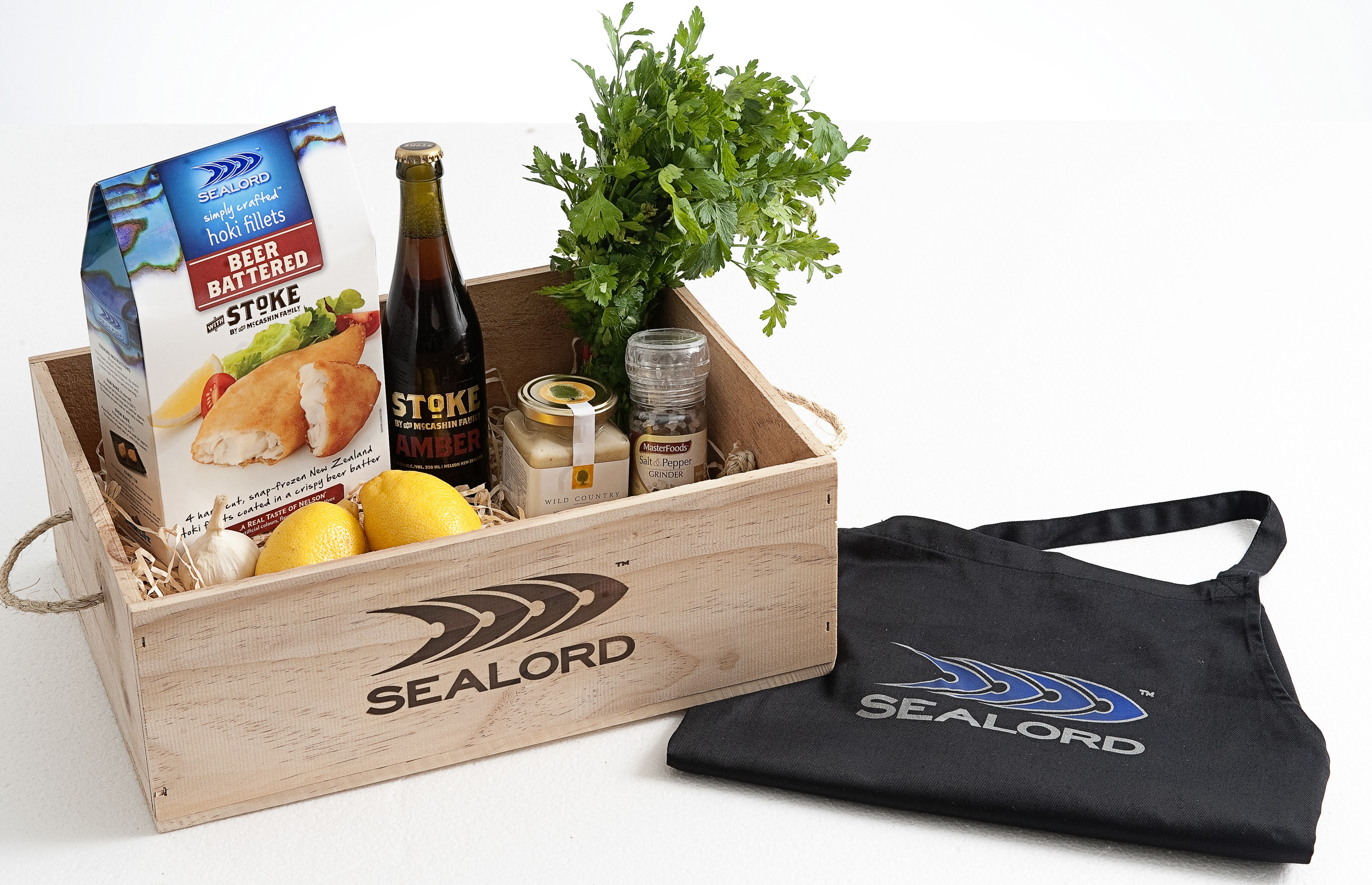 Winners of Sealord Hampers Fresh ideas