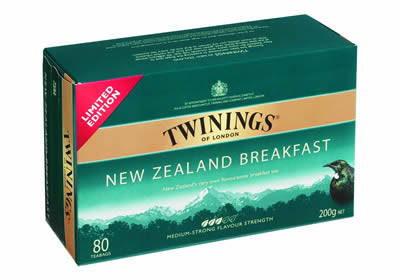 Tea made in NZ for NZ'ers now available fresh ideas