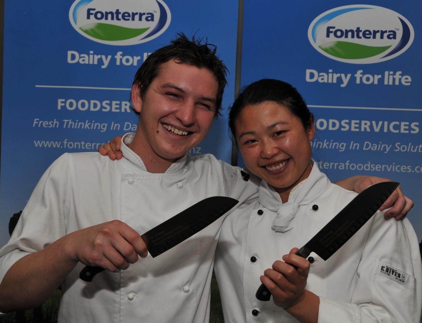 Two Award-winning kiwi chefs fresh ideas