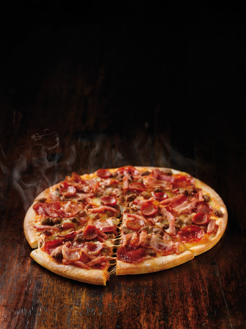 Domino's does facebook pizza fresh ideas