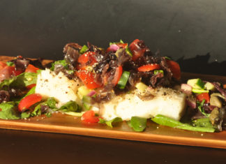 Blue cod with Karengo Salsa Fresh recipes healthy food ideas