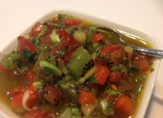 Kiwifruit Salsa Fresh Food Ideas