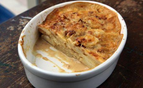 Potato Bake with milk healthy food ideas