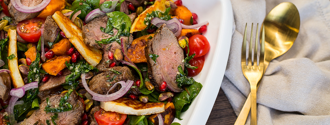 Balsamic Lamb Salad