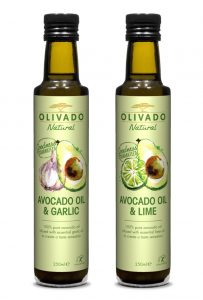Natural Garlic and Lime Infused Avocado Oils 250ml ROW