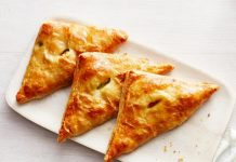 Creamy Chicken and Mushroom Turnovers