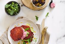 Beetroot Chia Fritters