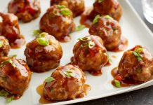 Sticky Asian Meatballs