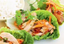 Bang Bang Chicken Lettuce Cups