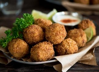 Bacon and Camembert Croquettes