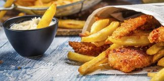 Homemade Fish and Chips with Tartare Sauce