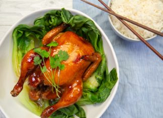 Sticky Asian Roast Chicken