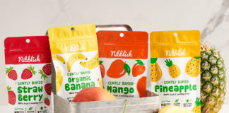 Nibblish Baked Real Fruit Snacks