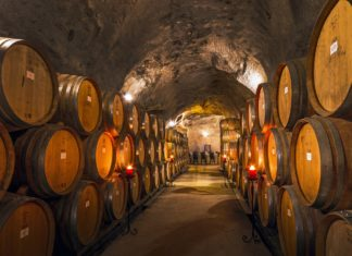 Gibbston Valley Winery Cave
