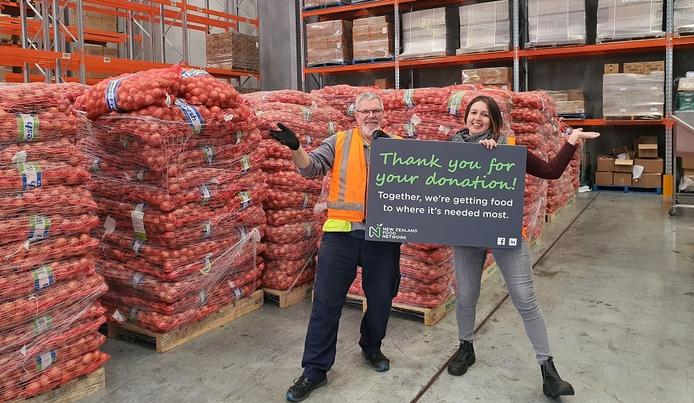 Onion Donation (donor to stay anonymous)